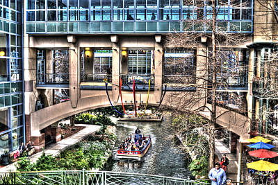 Art Print featuring the photograph San Antonio Riverwalk by Deborah Klubertanz