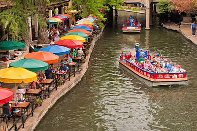 Photograph - San Antonio Riverwalk - Paseo Del Rio by Gregory Ballos