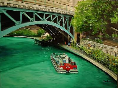 San Antonio Riverwalk Art Print by Stefon Marc Brown