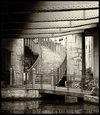 San Antonio Riverwalk Art Print by Tony Grider