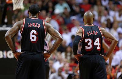 Photograph - San Antonio Spurs V Miami Heat by Mike Ehrmann
