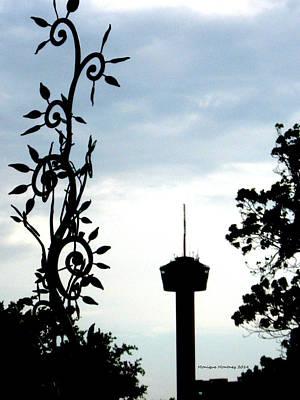 Photograph - San Antonio Tower Of America by Monique Montney