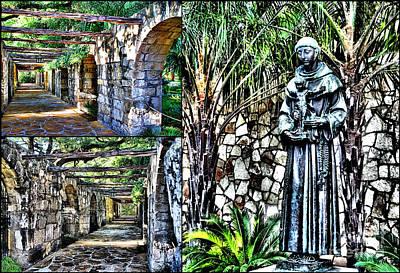 Photograph - San Antonio Triptychs  by Ken Frischkorn