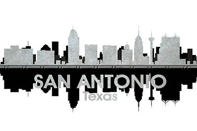 San Antonio Tx 4 Art Print by Angelina Vick