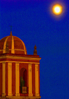San Bartolome Moonlight Art Print by Robin Graham