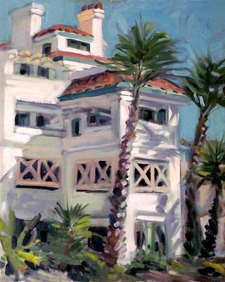 San Clemente Facade Art Print by Mark Lunde