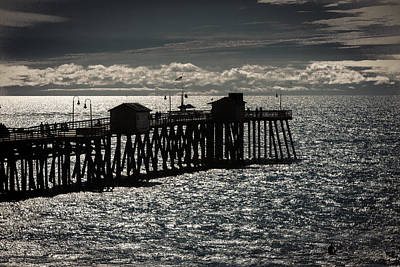 Photograph - San Clemente Pier by Dave Hall