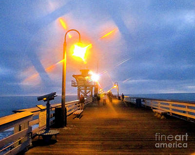 San Clemente Pier Original by Jerome Stumphauzer