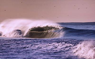 San Clemente Wave Art Print by Bob Hasbrook