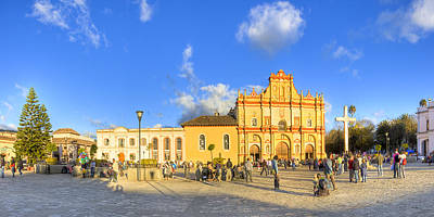 Photograph - San Cristobal De Las Casas Panorama by Mark E Tisdale