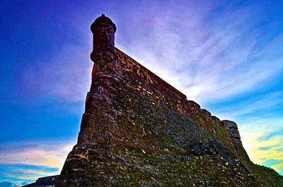 Print featuring the photograph San Cristobal Sentry by Ricardo J Ruiz de Porras