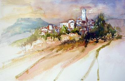 Painting - San Daniele Italy by Christa Friedl