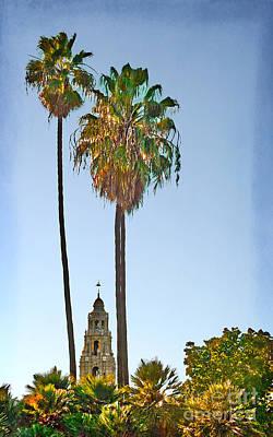 Photograph - San Diego - California Building Bell Tower by Gabriele Pomykaj