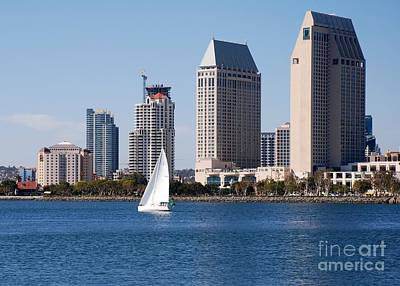 Photograph - San Diego Bay by Claudia Ellis