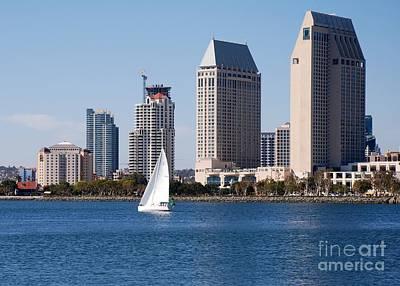 Photograph - San Diego Bay by Claudia Ellis
