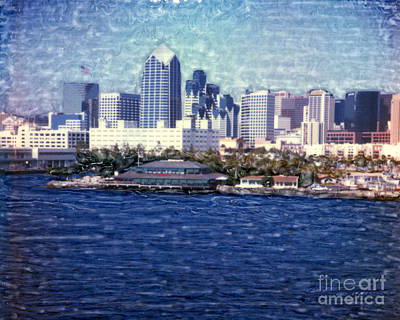 Photograph - San Diego Bay Fish Market by Glenn McNary