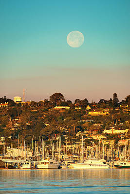 Photograph - San Diego Bay by Songquan Deng