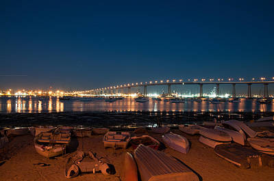 Photograph - San Diego Bridge  by Gandz Photography