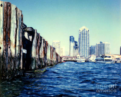 Photograph - San Diego Broadway Pier by Glenn McNary