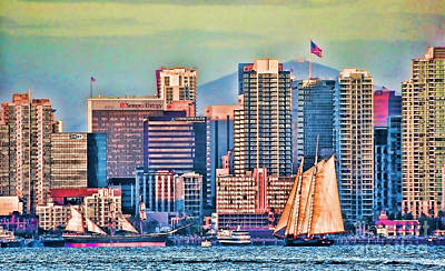Photograph - San Diego By Sea By Diana Sainz by Diana Raquel Sainz