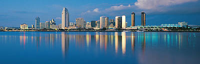 San Diego Ca Art Print by Panoramic Images