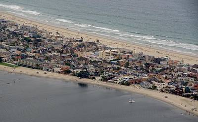 Photograph - San Diego Coast Aeriol 3 by Phyllis Spoor