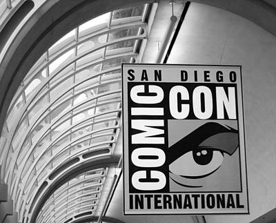 San Diego Comic Con Art Print