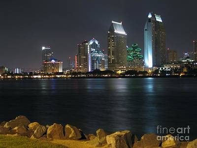 Photograph - San Diego From Coronado by James B Toy