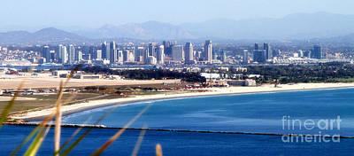 Photograph - San Diego From Point Loma By Diana Sainz by Diana Raquel Sainz