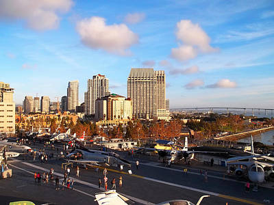 Photograph - San Diego - From The U S S Midway by Glenn McCarthy