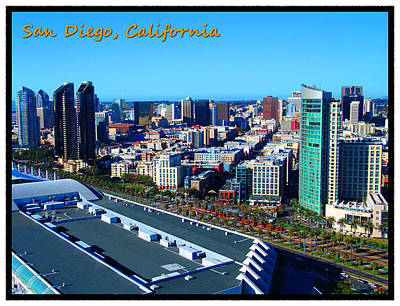 San Diego Convention Center Photograph - San Diego by Glenn McCarthy Art and Photography