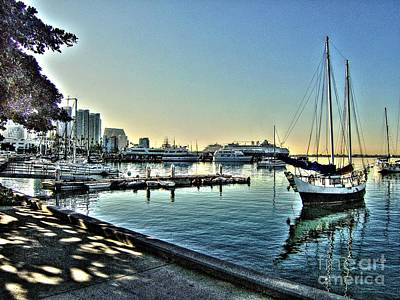 San Diego Harbor Art Print