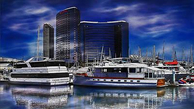 Photograph - San Diego Harbor by Wayne Wood