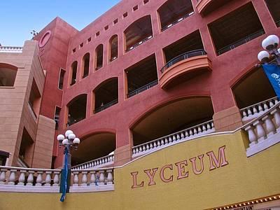 Photograph - San Diego Lyceum Mall by Ricardo J Ruiz de Porras