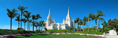 Photograph - San Diego Mormon Temple by Songquan Deng