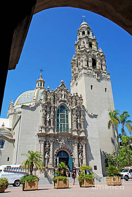 San Diego Artist Photograph - San Diego Museum Of Man by Claudia Ellis