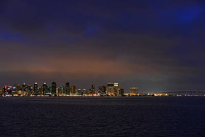 Coronado Photograph - San Diego Night Sky by Christine Till
