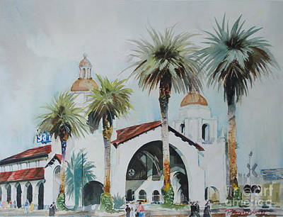 Painting - San Diego by P Anthony Visco