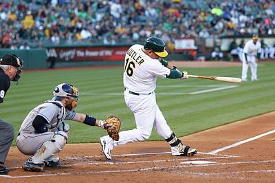 Photograph - San Diego Padres V Oakland Athletics by Jason O. Watson