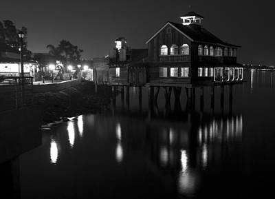 Photograph - San Diego Pier Cafe by Nathan Rupert