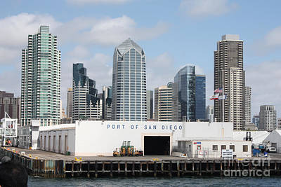 Photograph - San Diego Port by John Telfer