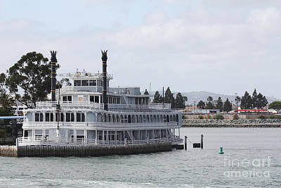 Photograph - San Diego Riverboat by John Telfer