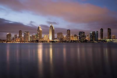 Photograph - San Diego Skyline 3 by Lee Kirchhevel