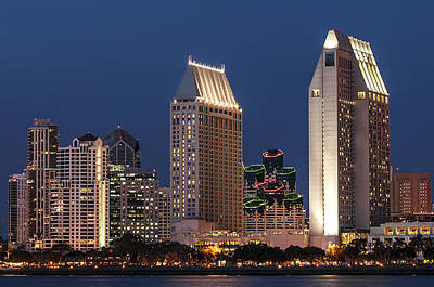 Photograph - San Diego Skyline 4 by Lee Kirchhevel