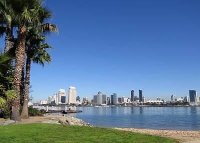 Photograph - San Diego Skyline by Nina Donner