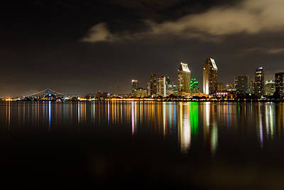 Wall Art - Photograph - San Diego Skyline by Scott Hafer