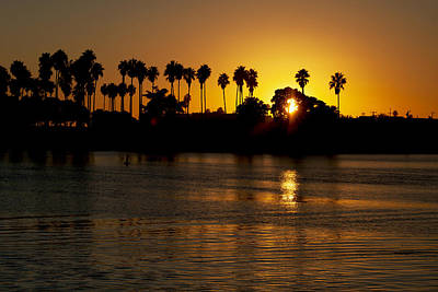 Photograph - San Diego Sunset by John Noel