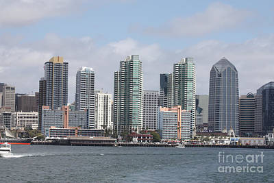 Photograph - San Diego Waterfront by John Telfer