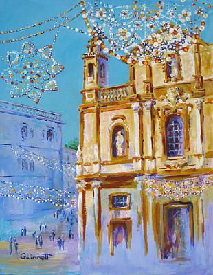 Painting - San Domenico Palermo by Kathleen  Gwinnett