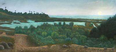 Pastel - San Elijo Lagoon by Michael Heikkinen